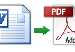 Converting a Word Document To a PDF Format