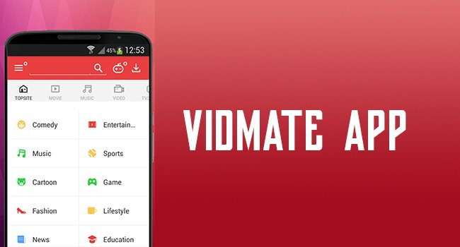 Vidmate App from 9Apps Store